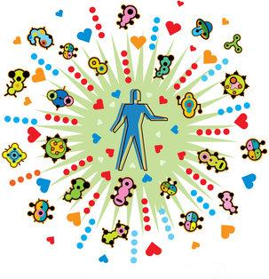 human microbiome by Hank Osuna